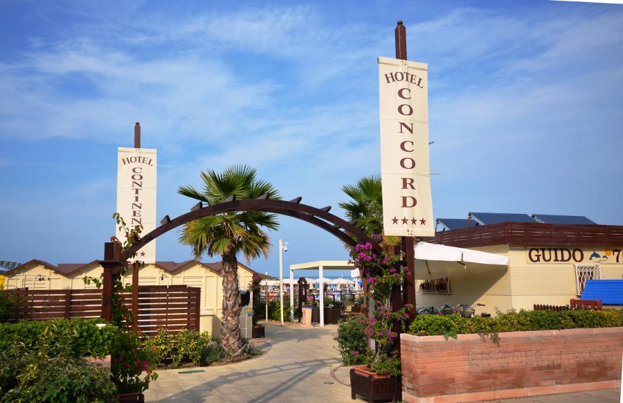 Hotel Concord Riccione ****   Spiaggia   Scopri le Spiagge Convenzionate